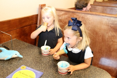 Pre-K First Day Ice Cream