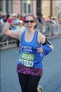 Nicole Finishes the Half-Marathon