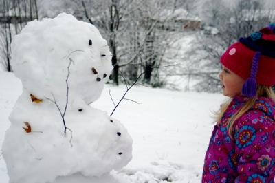 Snowman Stare-down