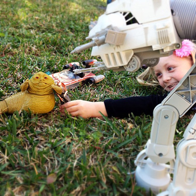 Backyard Star Wars