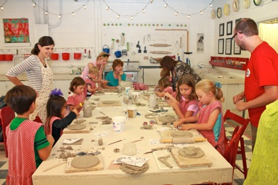 Pottery Party