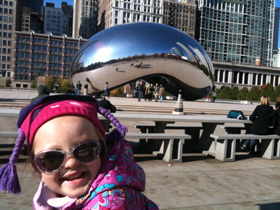 Camille and The Bean!
