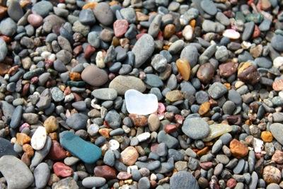 Clear Sea Glass