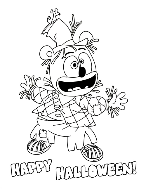 Enter The Halloween Coloring Page Giveaway To Win A FREE