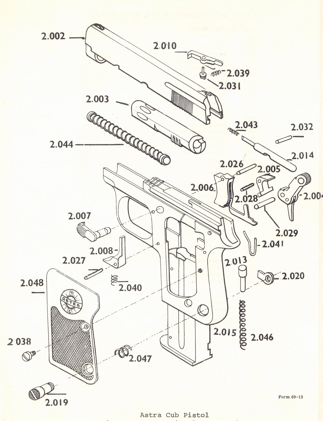 hight resolution of bob s gun shop millions of gun parts astra cadix revolver gun parts astra cub gun parts astra firecat gun parts astra constable gun parts