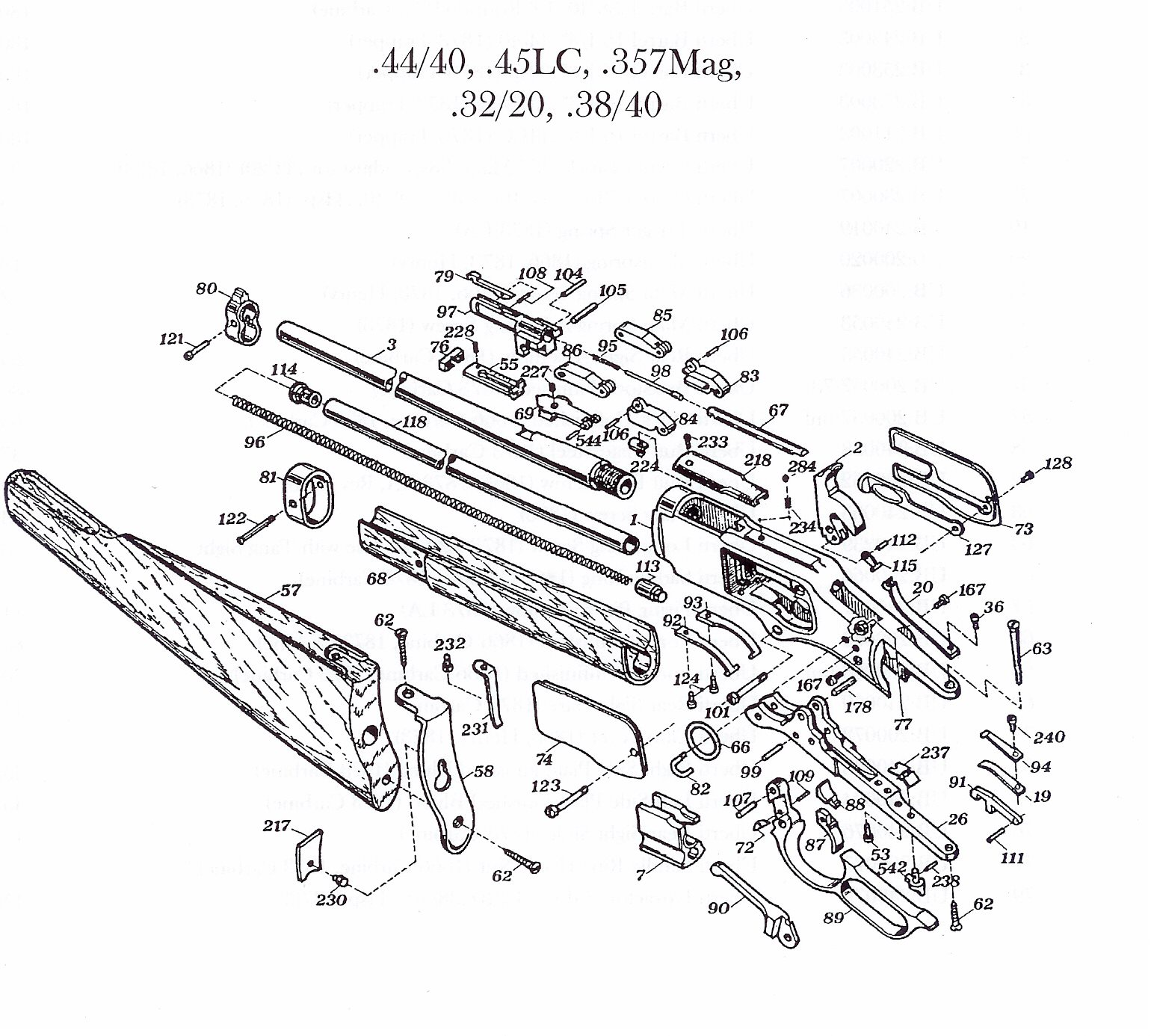 winchester model 94 parts diagram diesel generator wiring schematic for get free image about