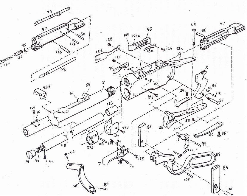 AA Action Gun Parts for Cowboy Gun Parts, Replica Gun