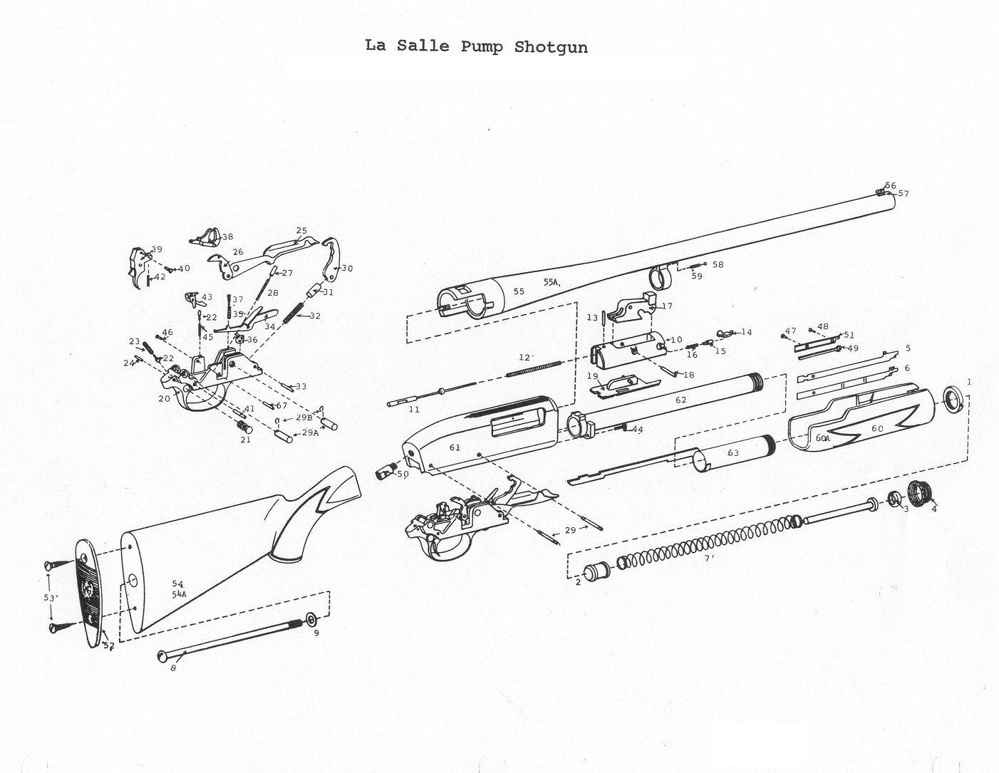 p38 9mm semi automatic pistol parts diagram picture pictures