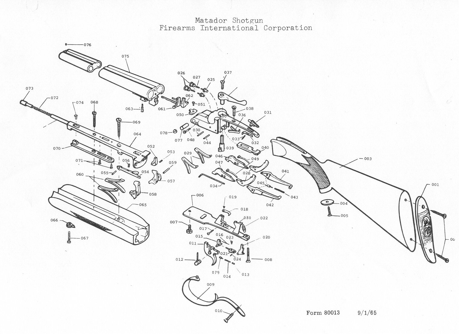 Gun Barrel Diagram, Gun, Free Engine Image For User Manual