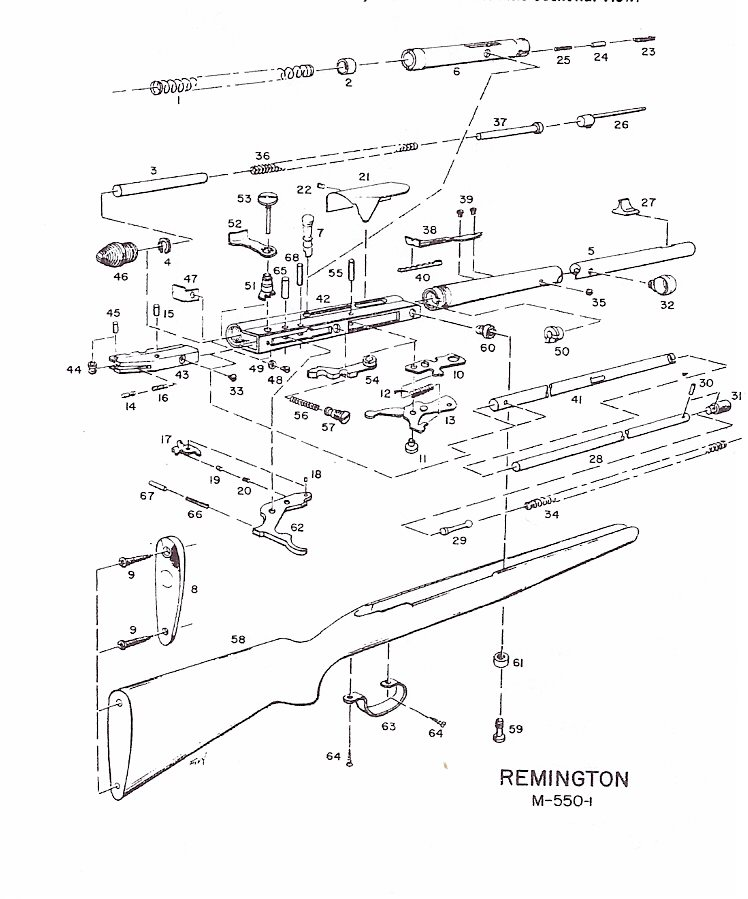 Remington 121 Parts And Schematic