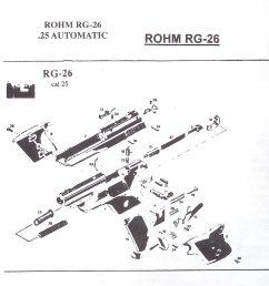 rohm rg revolver and automatic pistol parts german pistol parts revolver diagram related keywords suggestions revolver diagram [ 1038 x 973 Pixel ]