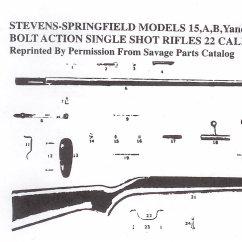 Savage Model 110 Parts Diagram Car Stereo Wiring And Color Codes All Availble Gun Repair Bob S Shop Stevens 15 120 Single 22