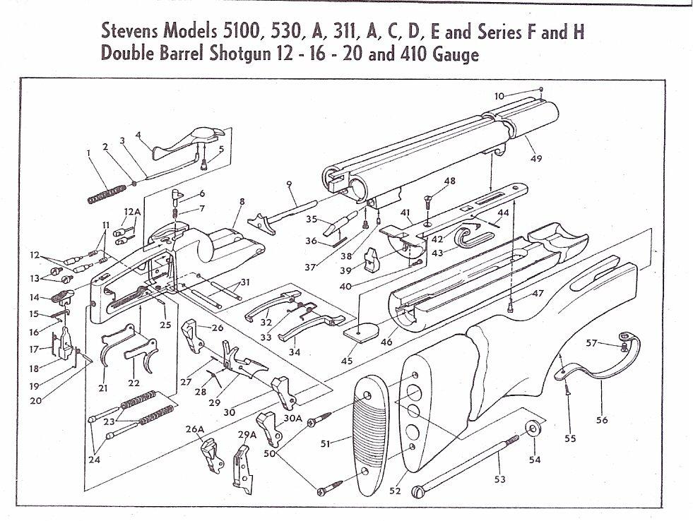 savage model 110 parts diagram three way wiring diagrams