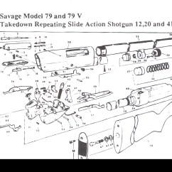 Savage Model 110 Parts Diagram John Deere 4430 Wiring 4230 And Shotgun Stevens Springfield Click To Enlarge