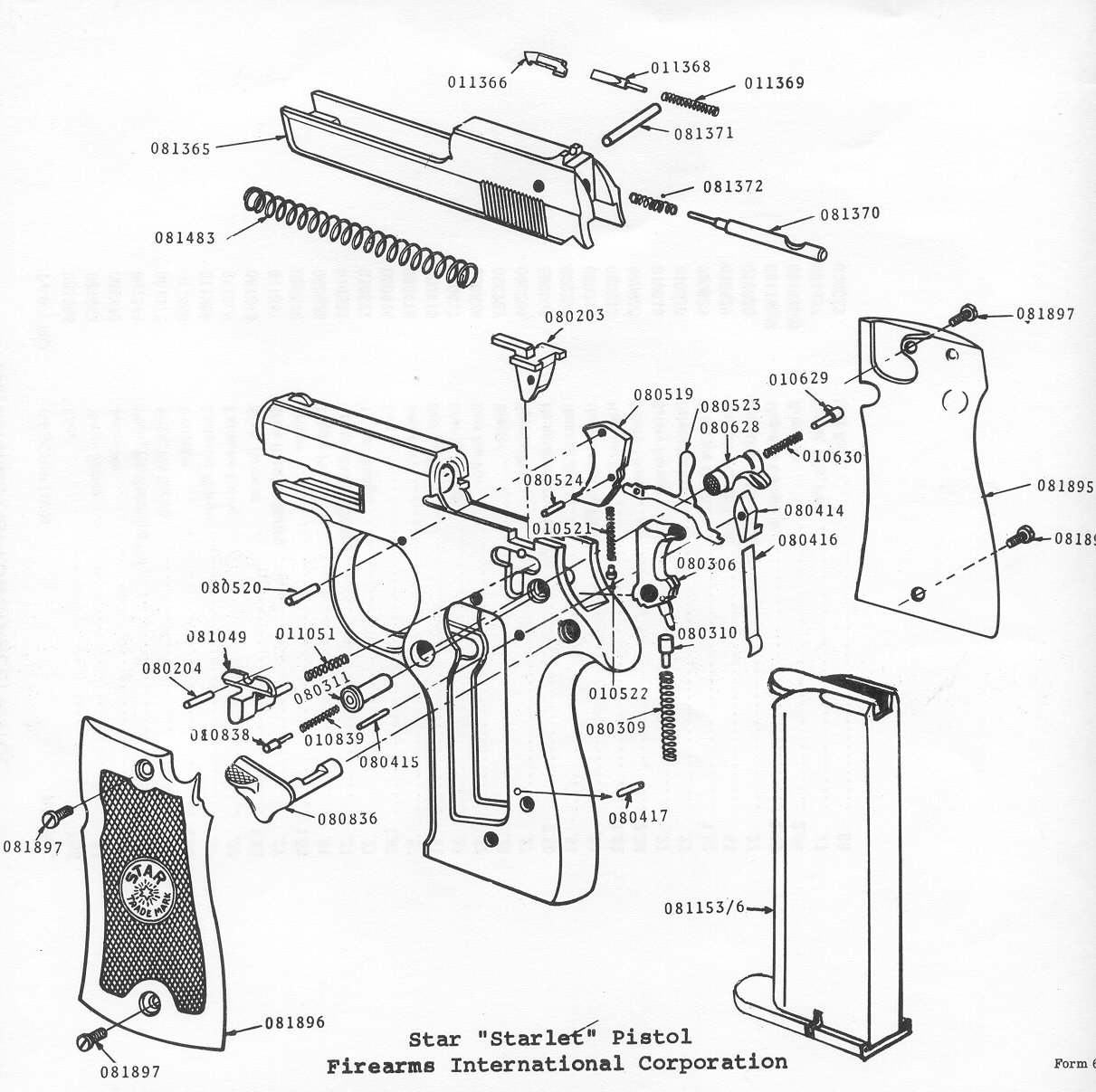 hight resolution of gun grip diagram