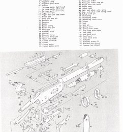 gun parts for many winchester models winchester levera action rifle parts winchester hi power rifle parts winchester hi power automatic rifle parts  [ 1128 x 1639 Pixel ]