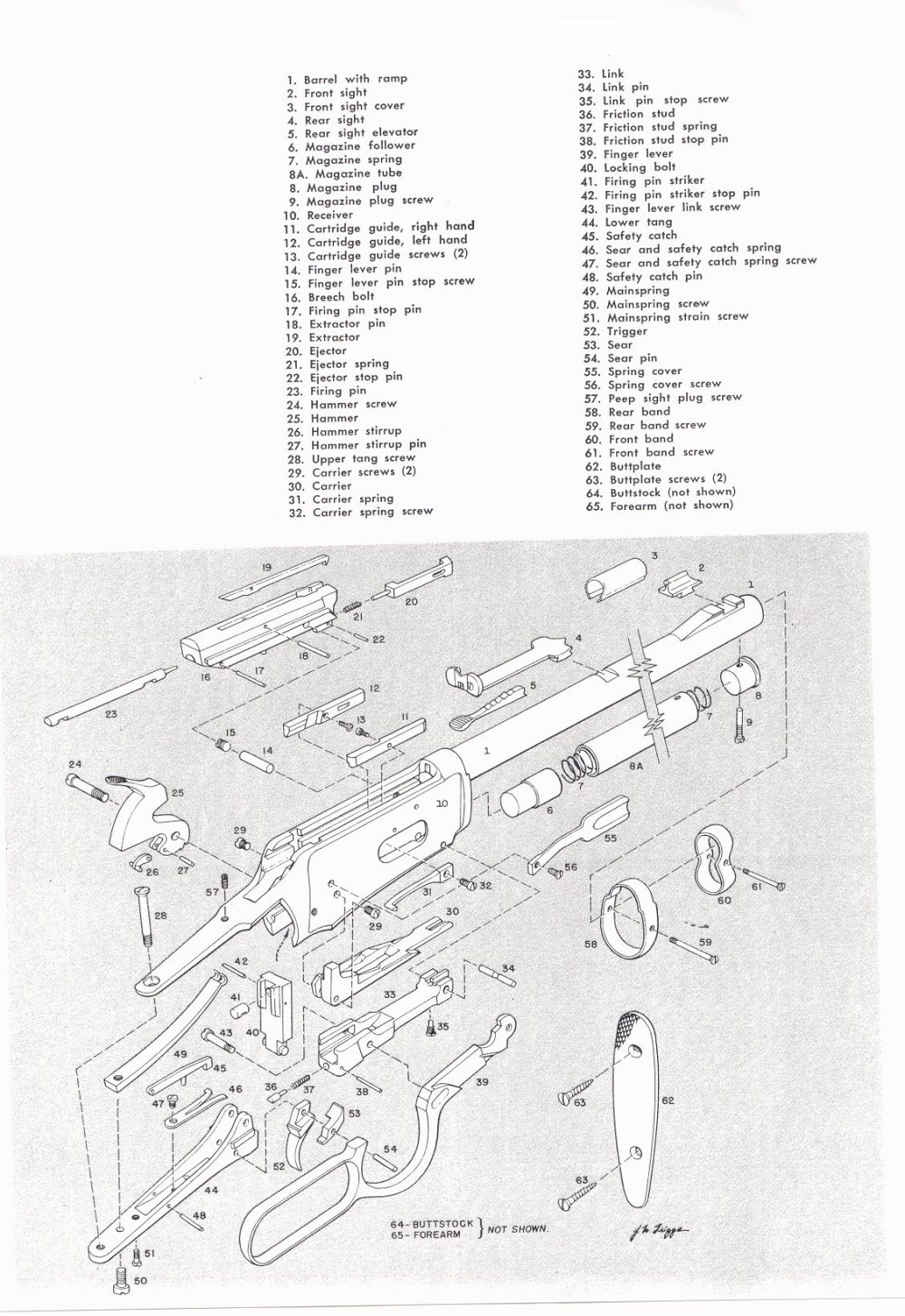 medium resolution of gun parts for many winchester models winchester levera action rifle parts winchester hi power rifle parts winchester hi power automatic rifle parts