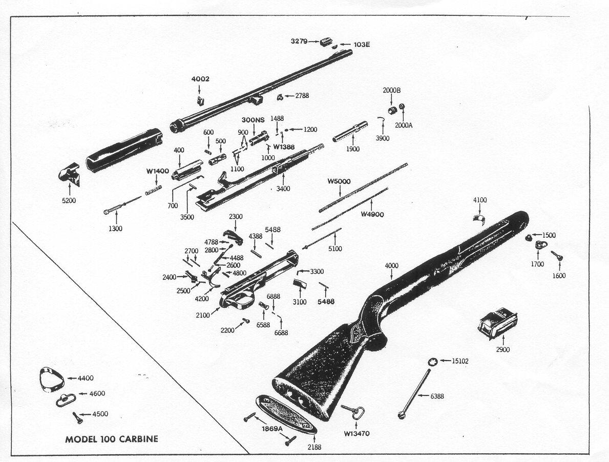winchester model 94 parts diagram farmall h wiring conversion 9422 schematic get free