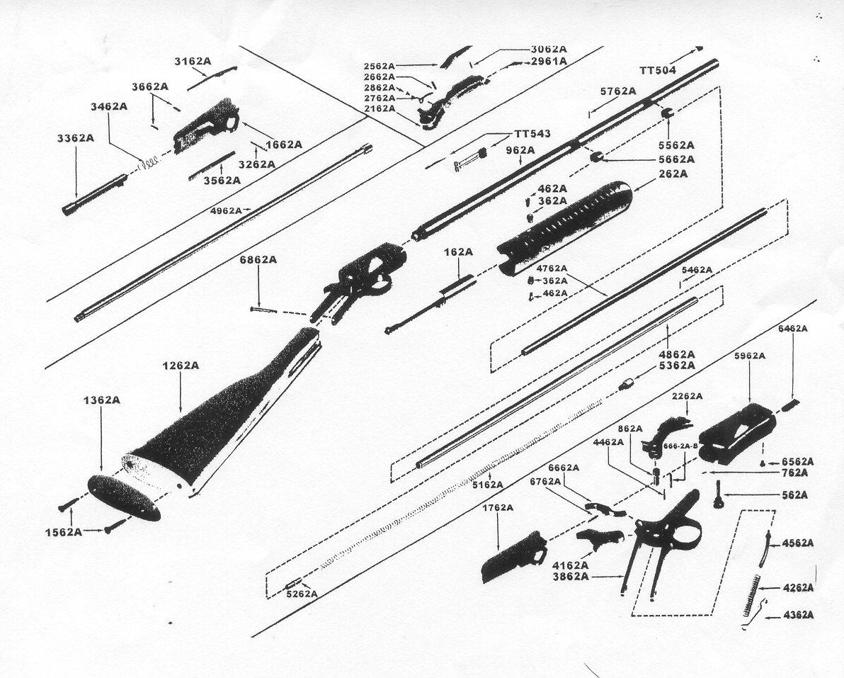 winchester model 94 parts diagram upright x20n scissor lift wiring remington 12 pump schematic 572