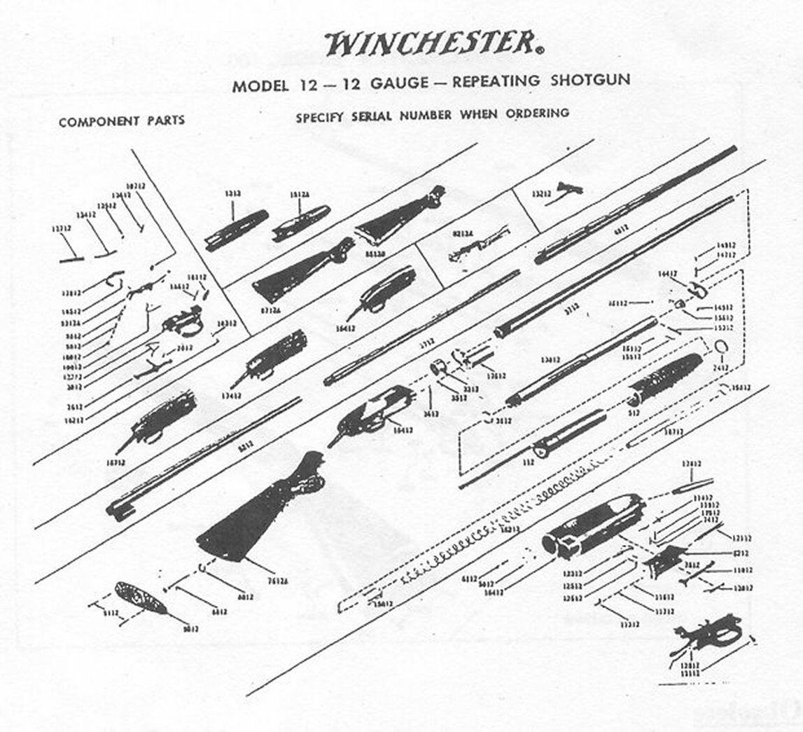 All Avaialble Winchester Gun Parts and Gun Stocks, Bob's