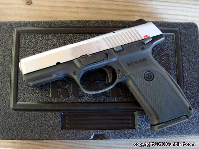 Ruger S Striker Fired 40 Caliber Sr40 Semi Auto Pistol