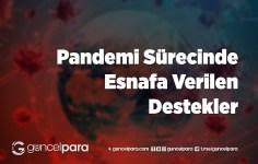 Pandemi Sürecinde Esnafa Verilen Destekler