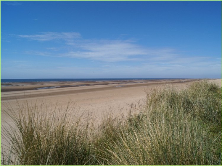 Formby, Liverpool, UK - Beach