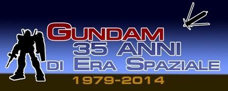 Gundam 35 anni di era spaziale