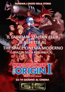 Il GIC al The Space Moderno per Gundam The Origin