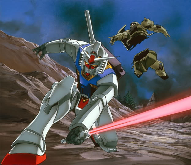 La serie Mobile Suit Gundam disponibile su Netflix