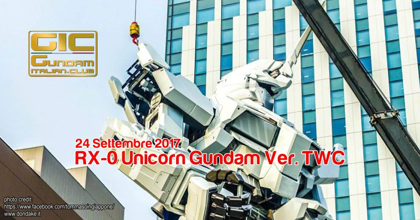 La statua dello Unicorn verrà inaugurata il 24 settembre