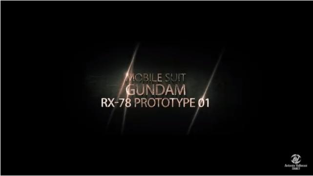 Online il trailer di Gundam RX 78 Prototype 1