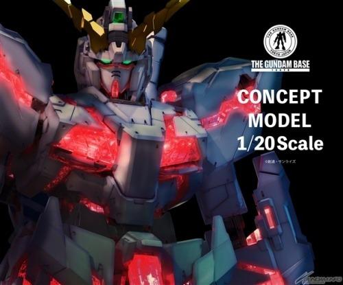 Gundam Unicorn Concept Model
