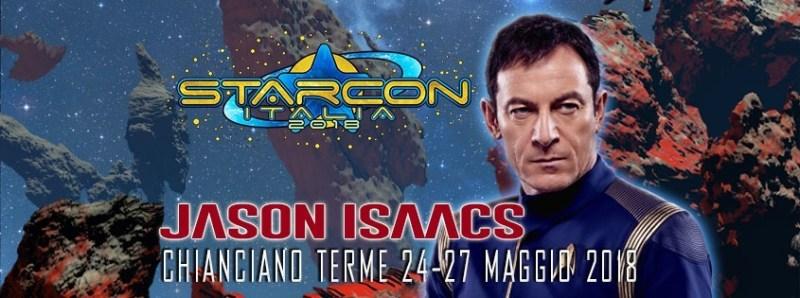 jason isaacs ospite della StarCon 2018