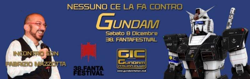 Il GIC e GUNDAM al FANTAFESTIVAL 2018