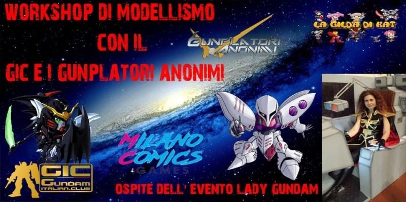 Il GIC a Milano Comics