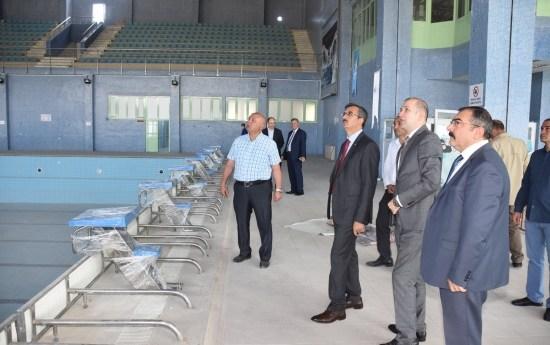 Olimpik Yüzme Havuzu 20 Haziran'da Açılıyor