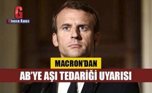Προειδοποίηση για την παροχή εμβολίων από το Macron στην ΕΕ