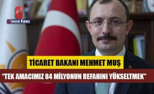 Πρώτη δήλωση του νέου υπουργού Εμπορίου Mehmet Muş