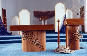 altarambo  Gunder Church Furniture