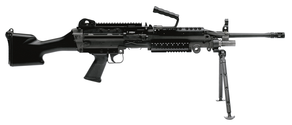 FNH USA's M249 is coming to the market fall as the semiautomatic M249S.