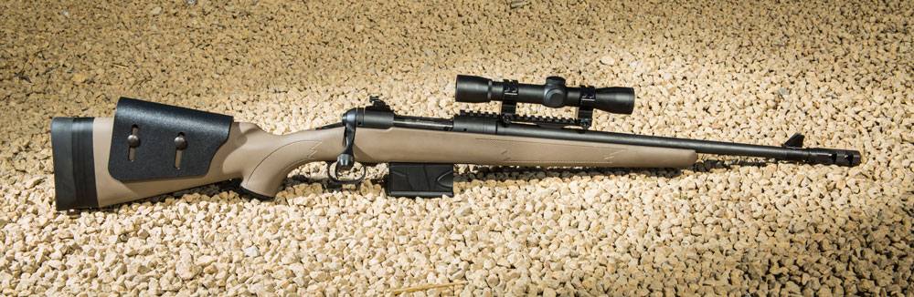 Savage Model 11 Scout Rifle.