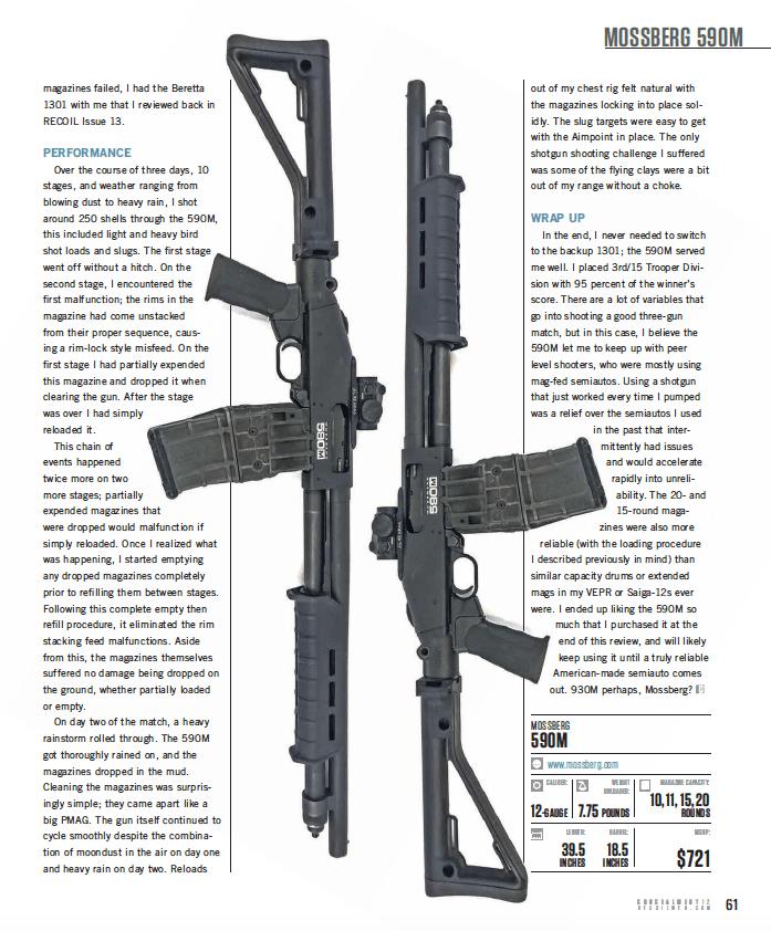 Tactical Shotguns: Reviews, Accessories and Use (Digital
