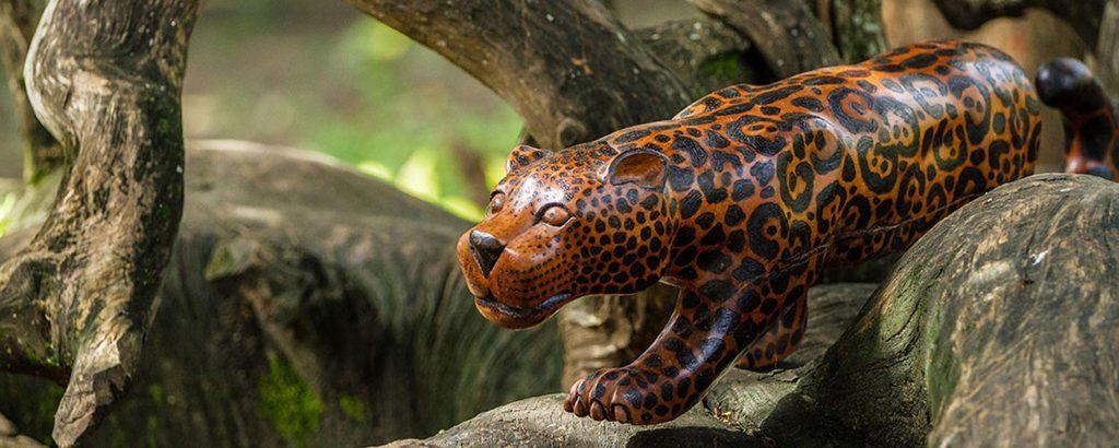 Artesanato de Alagoas: peça em madeira