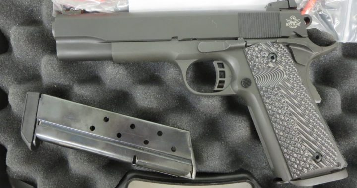 Used Rock Island 1911 Tactical 10mm w/ extra magazine and