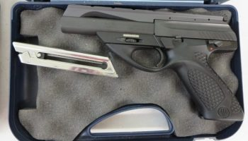 Used Beretta 21A Bobcat  22LR w/ case and box $295