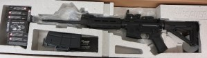 On Consignment:  Sig Sauer M400 5.56/.223 w/ 200 rounds of ammo, box and Red Dot Sight $1075