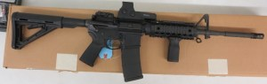 On Consignment:  Colt AR-15 M4 5.56/.223 w/ EoTech Sight and box $1495