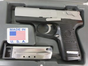 Used Ruger P95DC 9mm w/ case and extra magazine $350