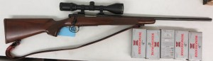 On Consignment:  Remington 700 Classic .300 Savage w/ scope and 5 boxes of ammo $995